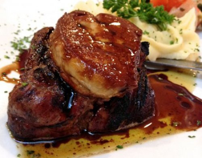 Filet Mignon al Foie
