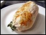 Filete de Pollo Relleno con Ricota y Espinaca