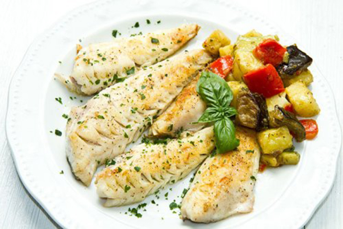 Filetes de Merluza con Verduras