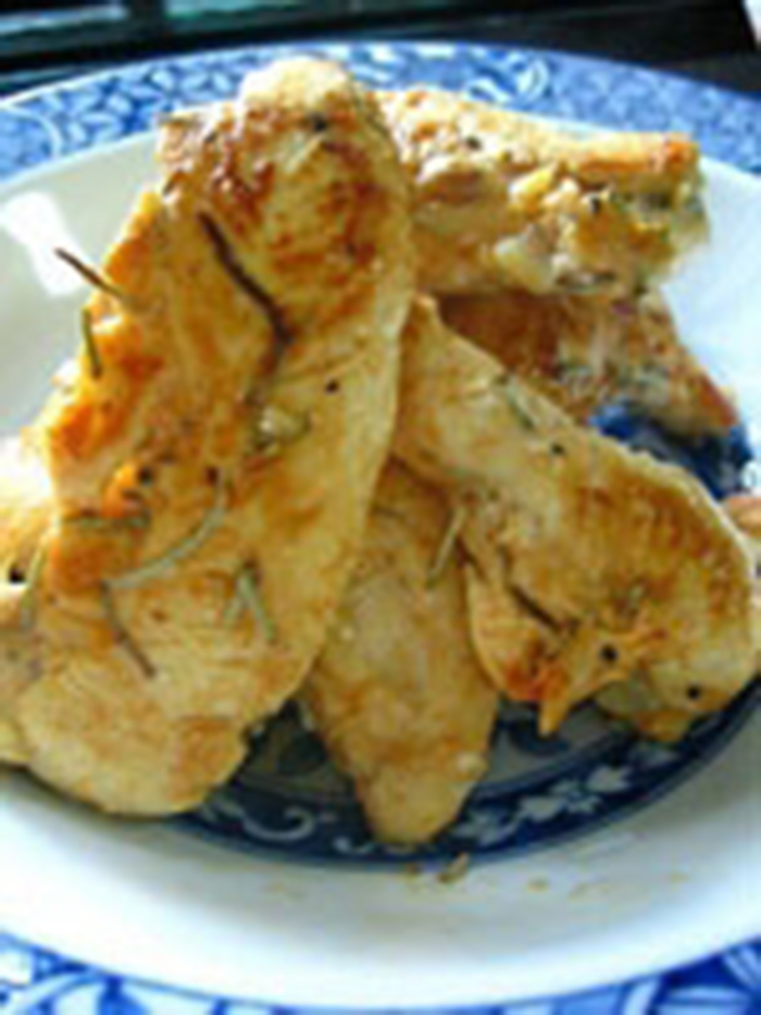 Filetes de Pollo al Romero.