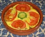 Flan de Tomate y Calabaza.