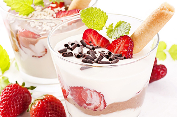 Fresas con Queso Crema y Chocolate