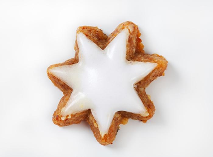 Galleta Estrella de Canela con Glaseado