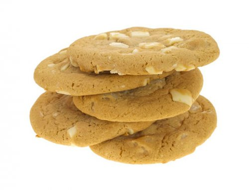 Galletas con Chocolate Blanco y Nueces