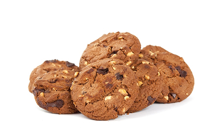 Galletas con Nueces y Chocolate