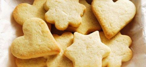 galletas de figuras en microondas