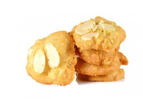 Galletas de Mantequilla con Almendras