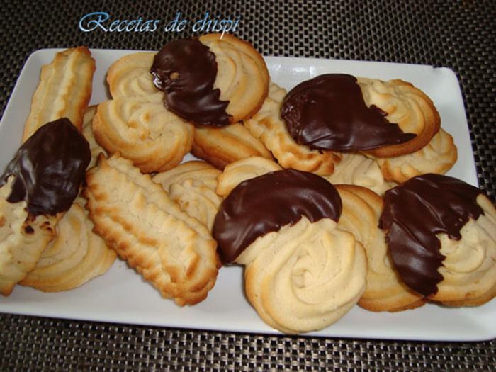 Galletas de mantequilla de chispi