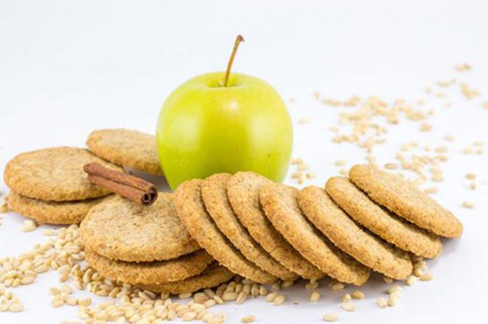 Galletas Integrales de Manzana y Canela