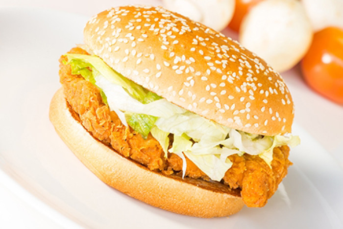 Hamburguesa de Pollo Crispy Chicken