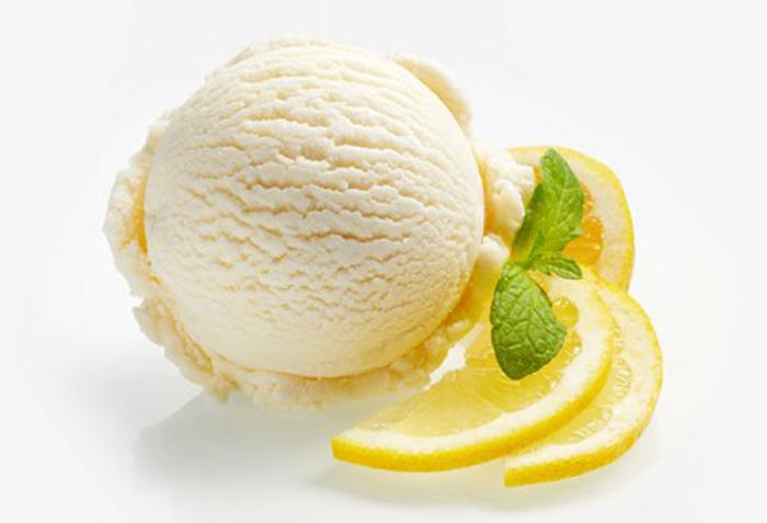 Helado de Limón con Leche Condensada
