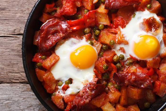 Huevos a la Flamenca Sin Horno