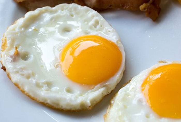 Huevos Fritos Redondos Sin Molde