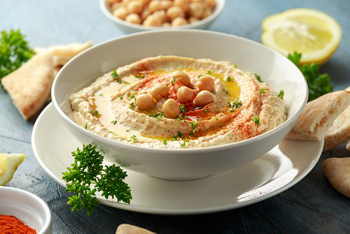 Hummus con Pimentón