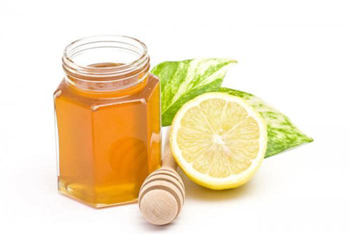 Jarabe Casero de Miel y Limón
