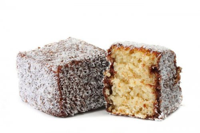 Lamingtons, Postre Australiano