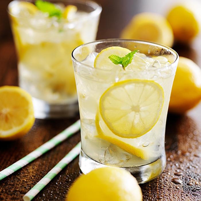 Limonada con Menta
