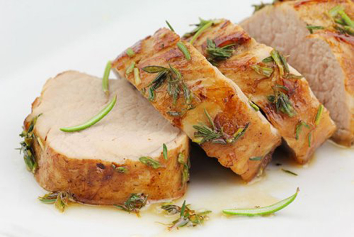 Lomo de Cerdo Asado a la Miel