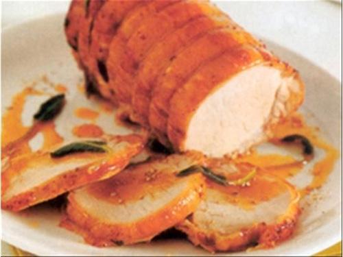 Lomo de Cerdo con Salsa de Miel