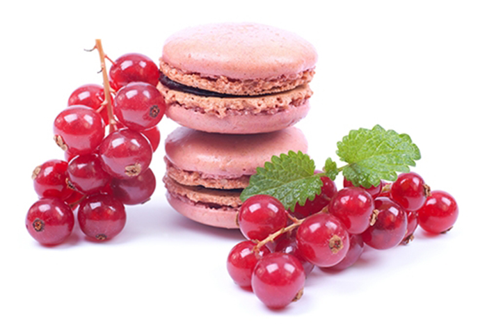 Macarons de Grosella