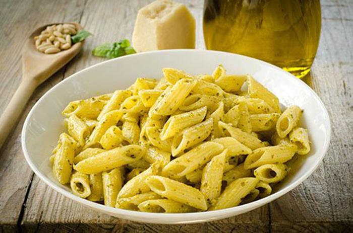 Macarrones al Pesto
