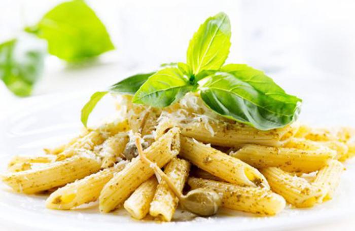 Macarrones con Pesto Picante