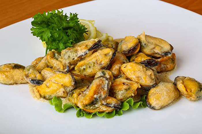 Mejillones en Salsa de Mantequilla