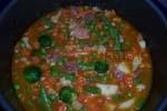 Menestra de verduras con magro de cerdo (Olla GM)