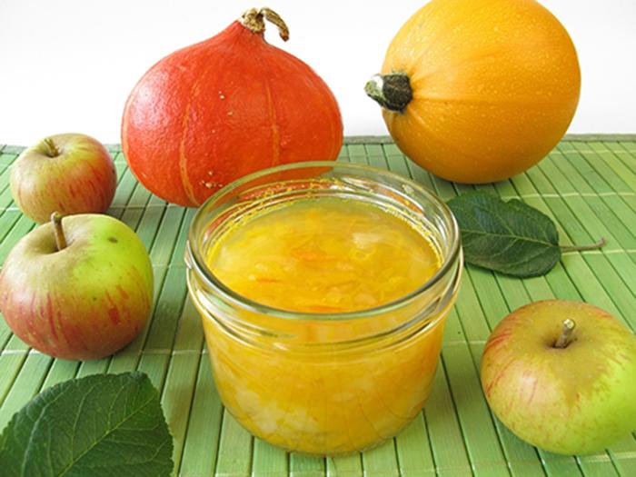 Mermelada de Calabaza y Manzana