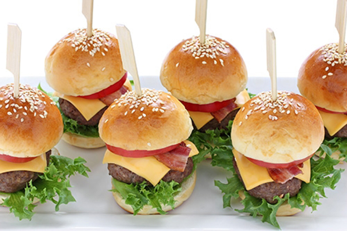 Minihamburguesas de aperitivo
