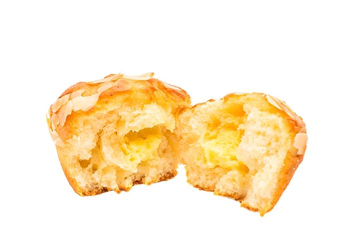 Muffin de Plátano y Almendras