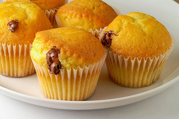 Muffins con Crema de Avellanas