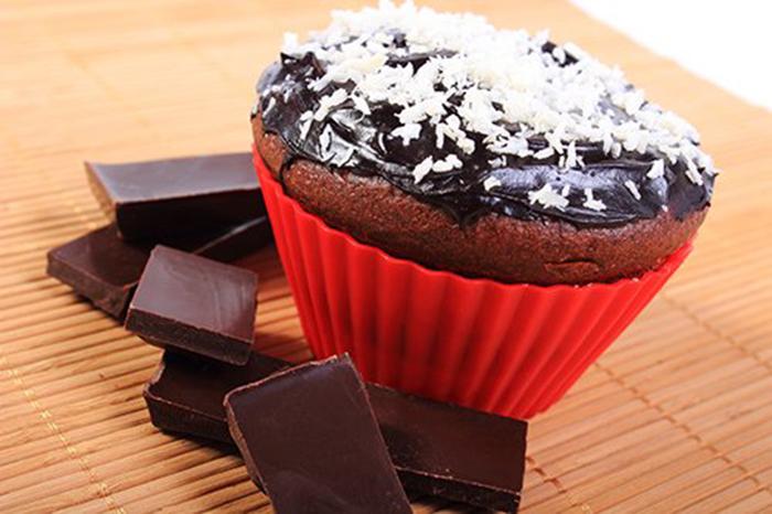 Muffins de Chocolate y Coco