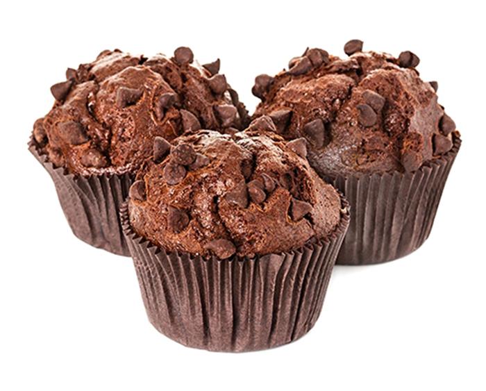Muffins de Chocolate y Naranja.