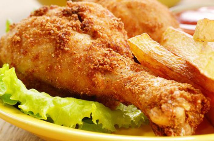 Muslos de Pollo Fritos
