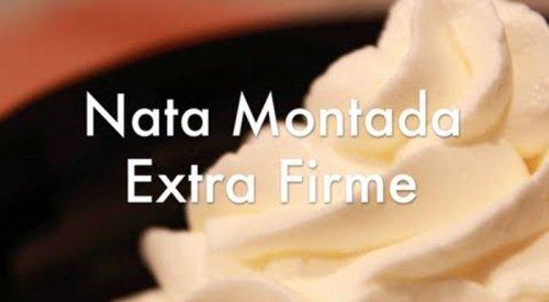 Nata Montada Extra Firme