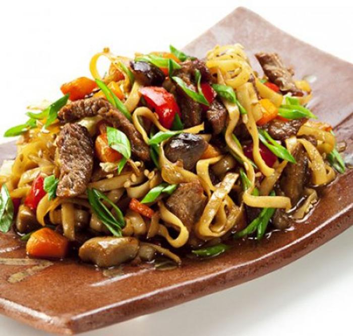 Noodles con Verduras.
