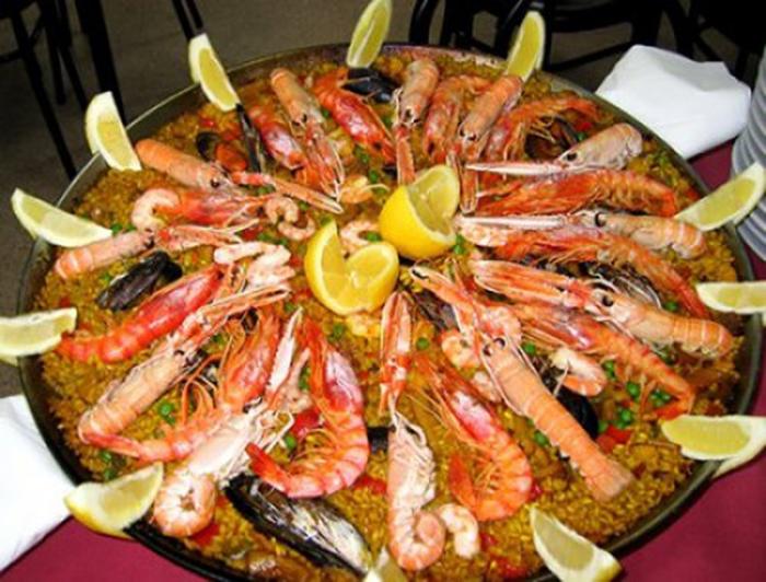 Paella de Marisco.