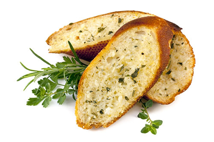 Pan de Ajo con Hierbas