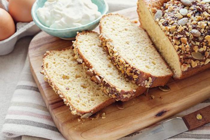 Pan de Almendras Casero