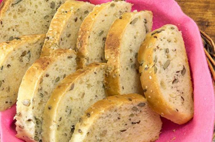 Pan de Centeno con Nueces y Semillas