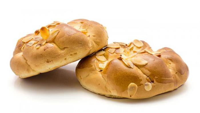 Pan Trenzado Con Almendras