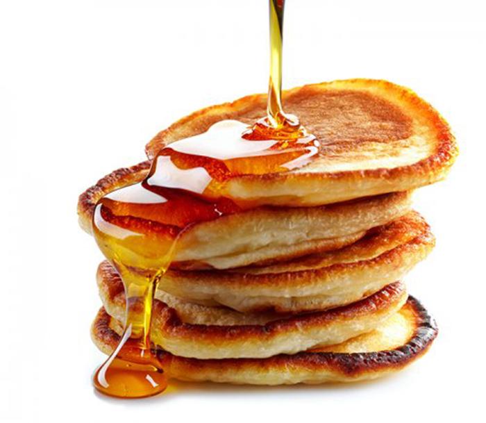 Pancakes con Miel