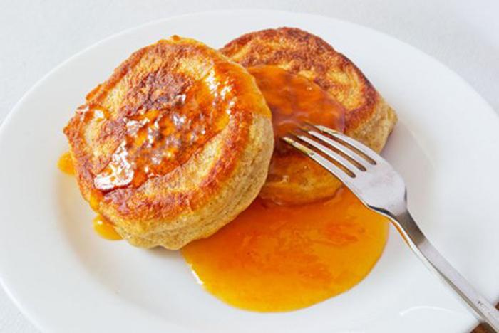Pancakes de Naranja