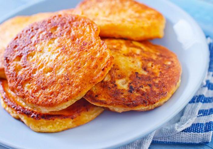 Pancakes de Queso Crema
