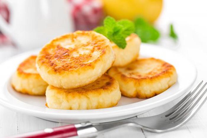 Pancakes de Queso