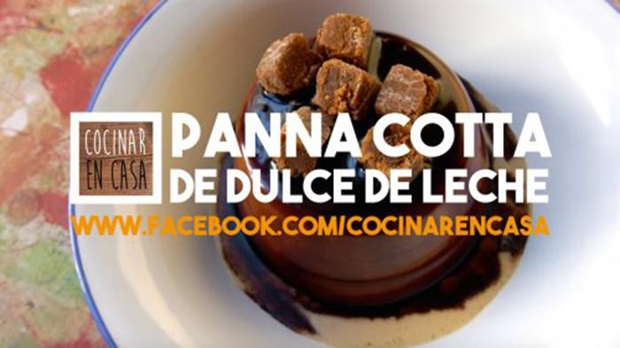 Panna Cotta de Dulce de Leche
