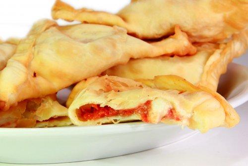 Panzerotti con Tomate y Mozzarella