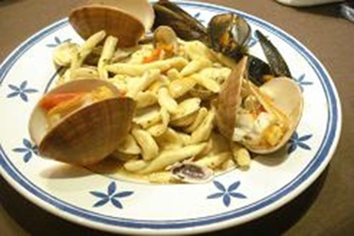 Pasta Maritati mar y montes (Italia)