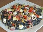 Pasta Negra con Chipirones